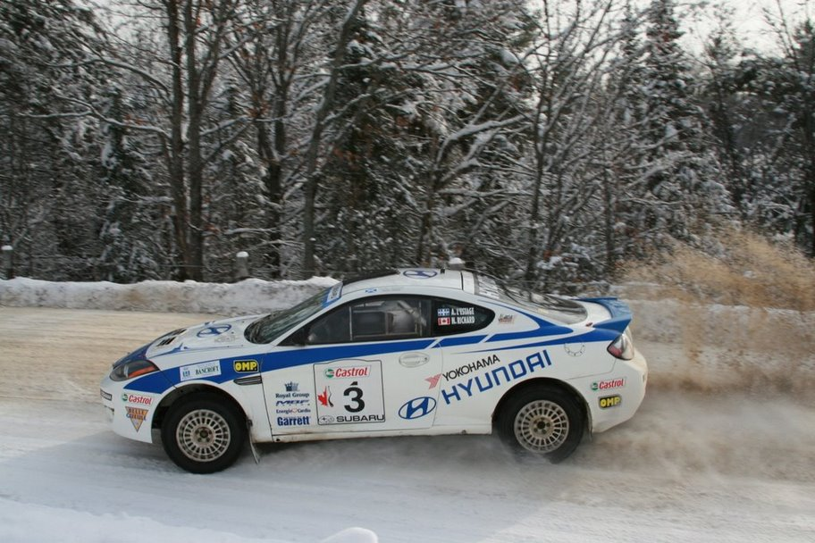 2007 Tall Pines Rally Winner
